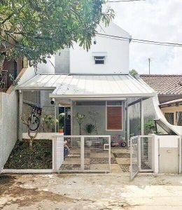 desain pagar rumah minimalis, modern, klasik, industrial