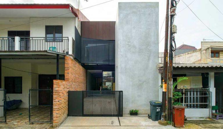 desain rumah industrial