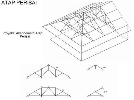 rangka atap limas