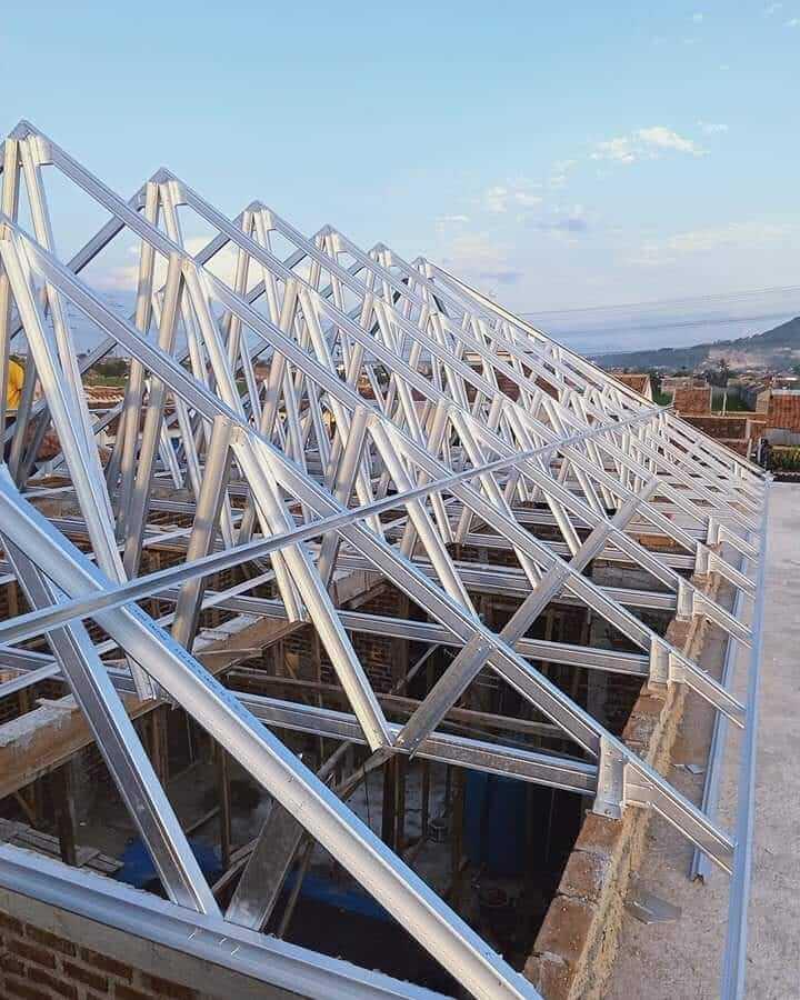 harga pembaruan pasang rangka atap baja ringan surabaya