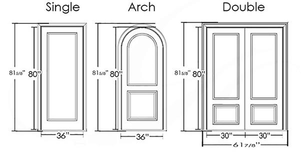 standar ukuran pintu rumah