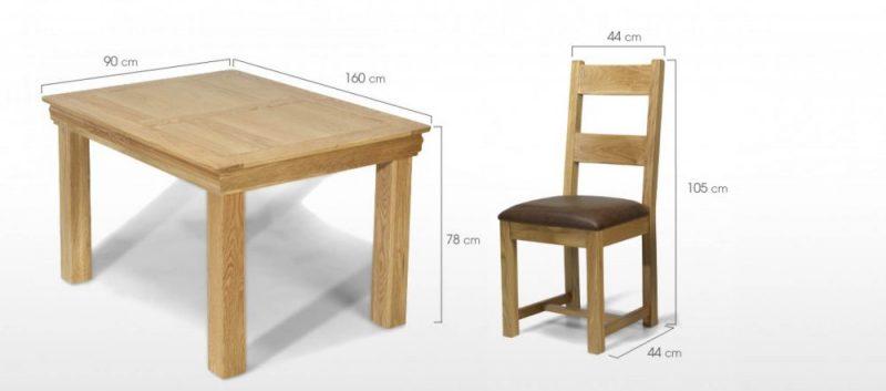 Ukuran Meja Makan Minimalis Beserta Tinggi Dan Lebarnya Yang Ideal