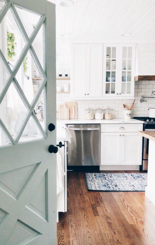 size pintu dapur
