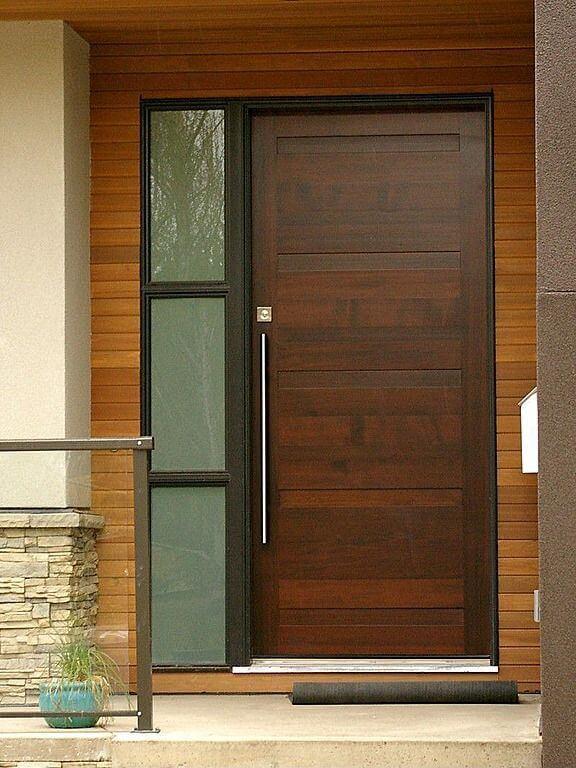 ukuran pintu rumah 1 daun pintu