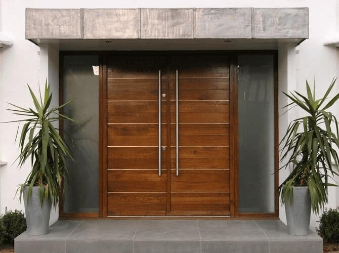 ukuran pintu rumah 2 daun pintu