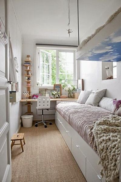 kamar tidur minimalis 3x4 sempit