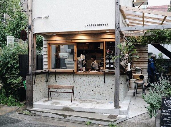 desain cafe klasik Ala Warung