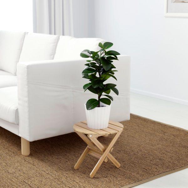 Rak kayu bentuk kursi
