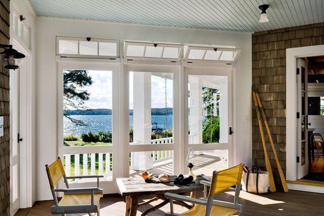 Desain Jendela Rumah Transom