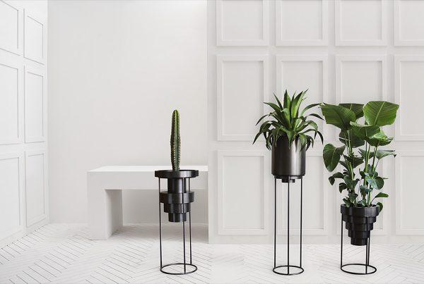 Model rak bunga elegan minimalis