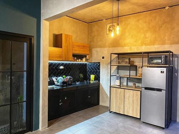 desain 2 dapur industrial 2x1