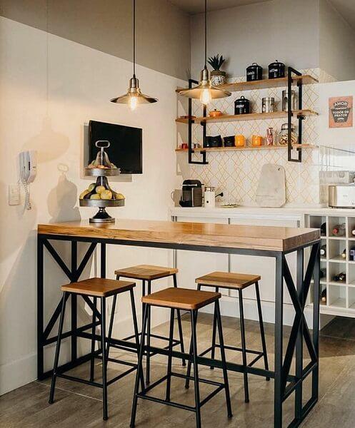 desain 4 dapur industrial 2x1