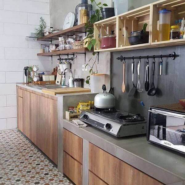 desain 5 dapur industrial 2x1