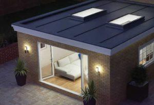 desain atap rumah datar galvalum