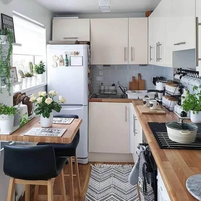 desain dapur minimalis 2x1