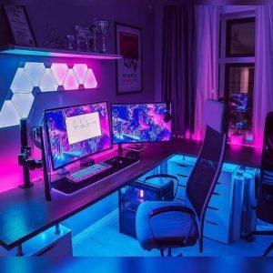 desain kamar gaming