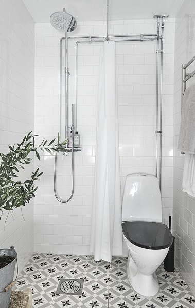 desain kamar mandi 1x1 elegan