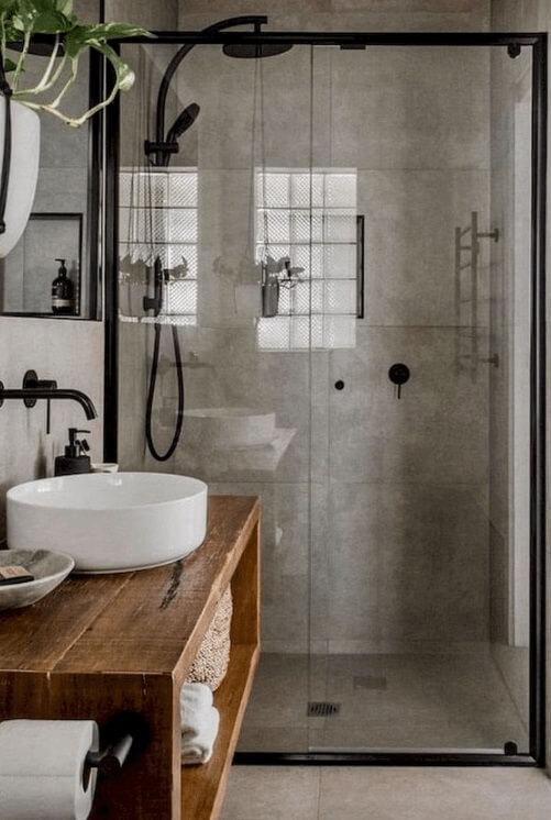 desain kamar mandi 1x1 industrial