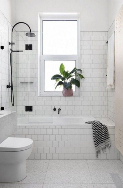 desain kamar mandi 1x1 natural