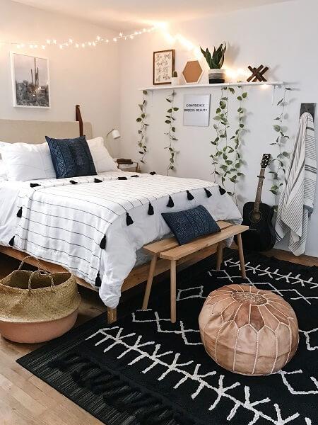 desain kamar sederhana murah lampu thumblr