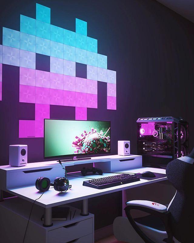 elegan gaming room