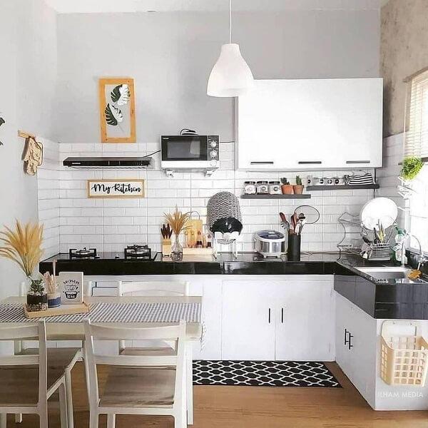 gambar 2 dapur ukuran 2x1 modern minimalis