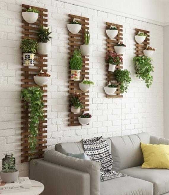 gambar 2 rak dinding palet