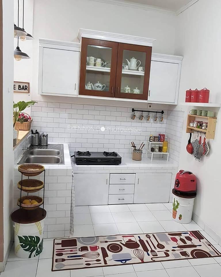 gambar 4 dapur ukuran 2x1 modern minimalis