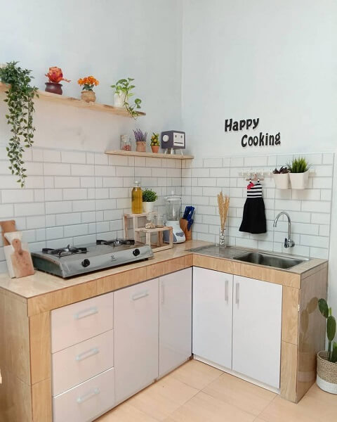 gambar 5 dapur ukuran 2x1 modern minimalis
