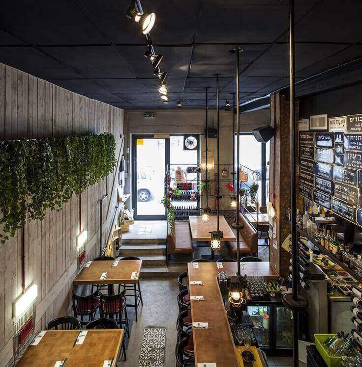 interior cafe ruko instagramable