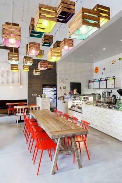 interior cafe ruko minimalis