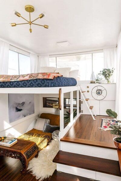 tempat tidur pasangan 2 lantai