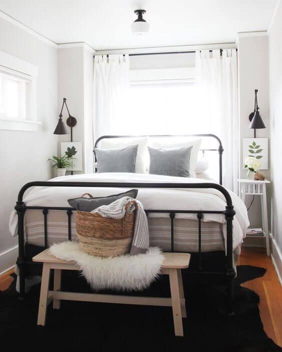 tempat tidur pasangan klasik minimalis