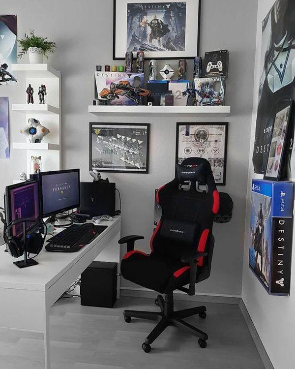 kamar gaming minimalis