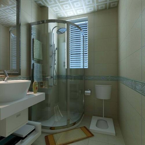 kamar mandi kloset jongkok bak shower