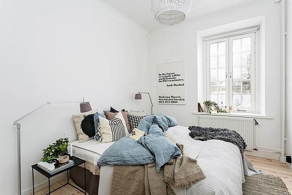 kamar tidur minimalis 3x4