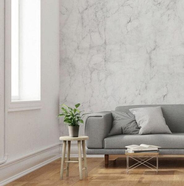 keramik dinding ruang tamu elegan