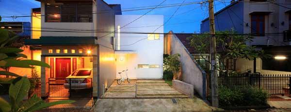 model rumah sederhana tapi indah kiri house
