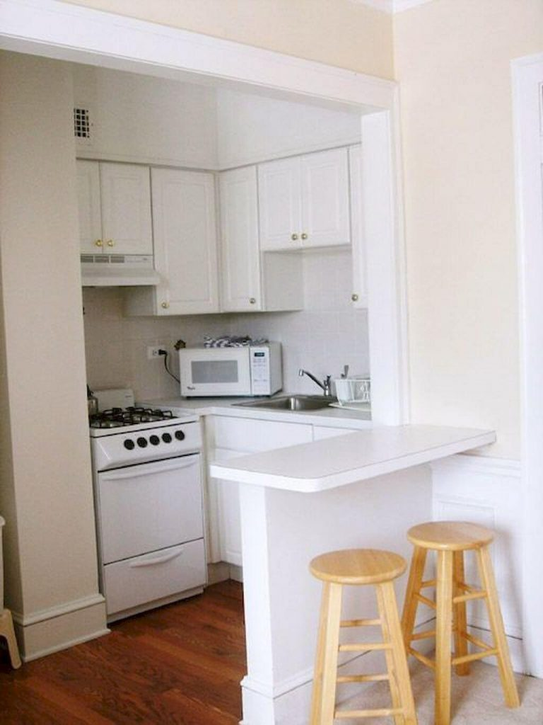 model 3 desain dapur minimalis 2x1 sederhana