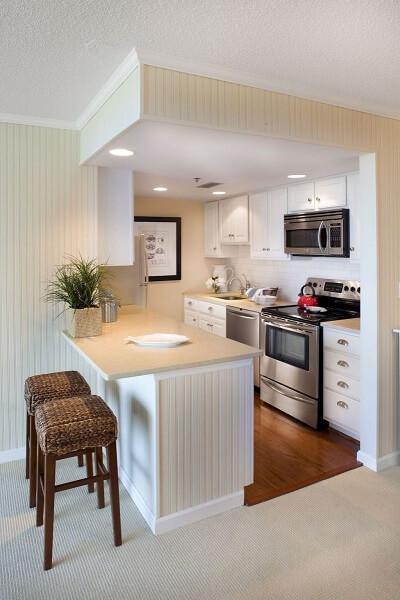 model 4 desain dapur minimalis 2x1 sederhana