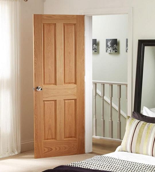 model pintu kamar minimalis dari kayu