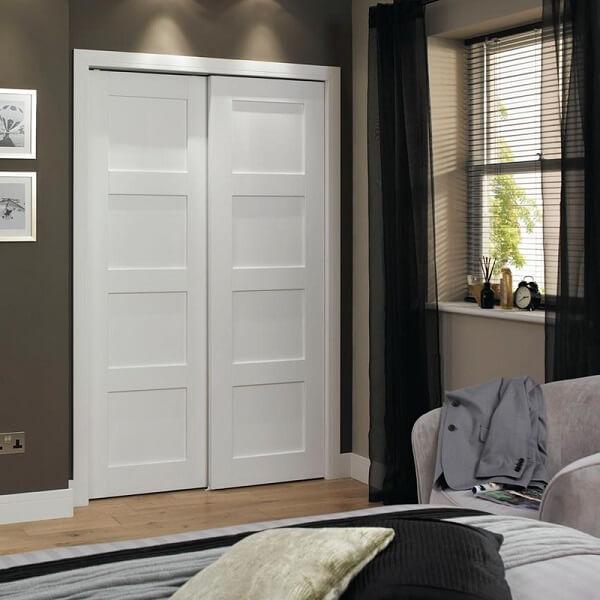 model pintu kamar minimalis putih