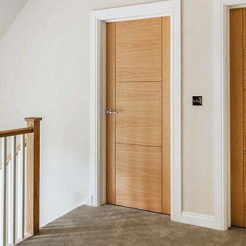 desain pintu tempat tidur sederhana