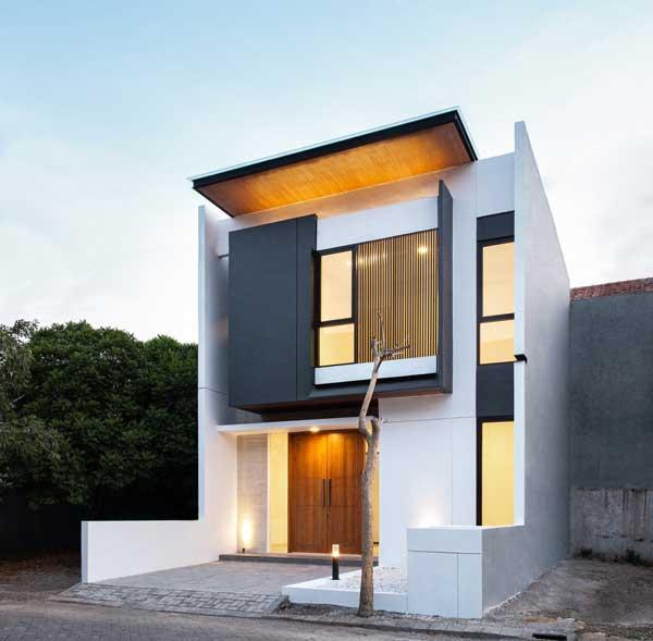 model rumah sederhana tapi indah 2 lantai monohouse