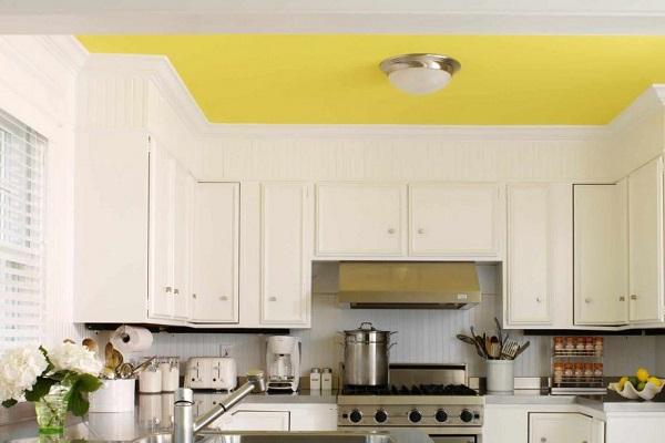 ceilling warna kuning
