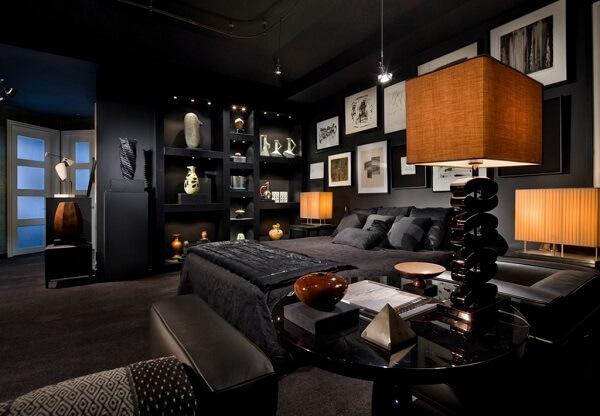 tempat tidur mewah dan estetik