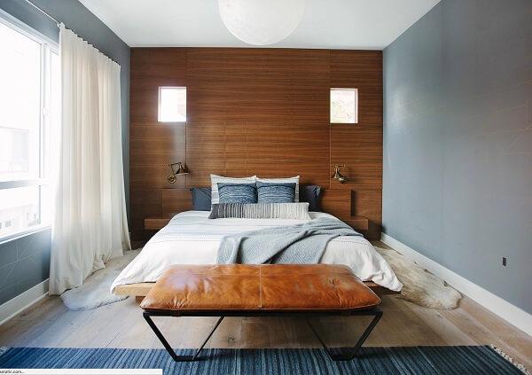 kombinasi warna plafon dinding abu kilat
