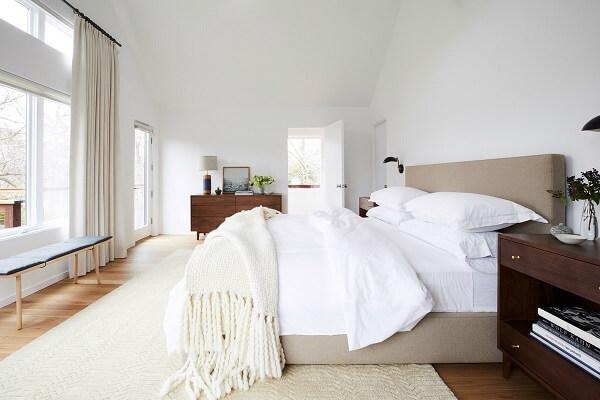 kombinasi warna plafon dinding off white