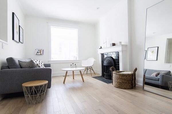 kombinasi warna plafon dinding putih