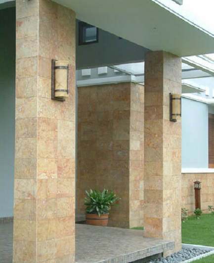 tiang teras keramik